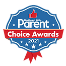 2021 Northeast ohio parent choice awards logo