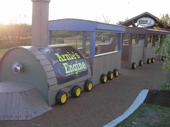 Arnie's train