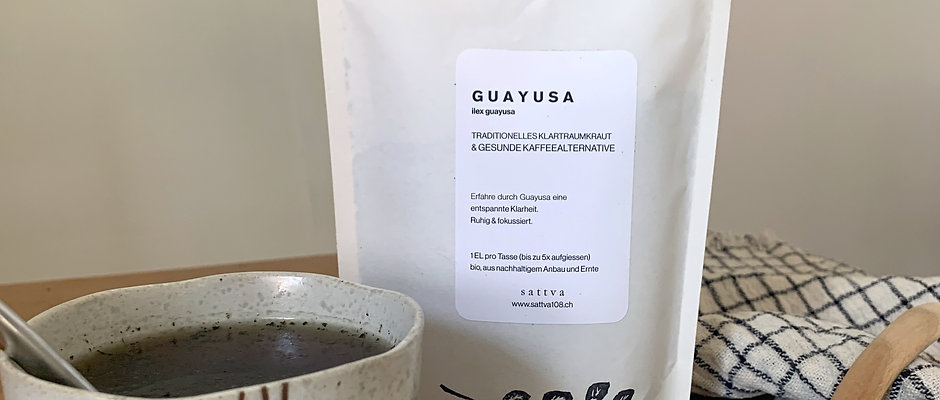 Guayusa & Edelstahl Trinkhalm