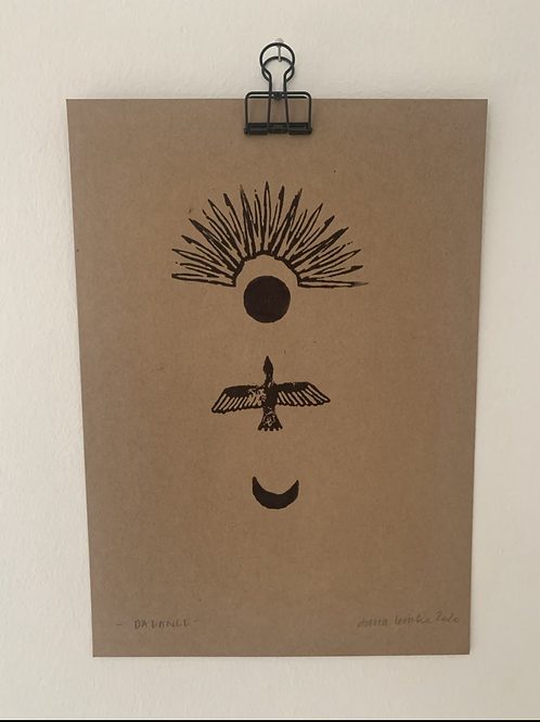 Balance - Original Print