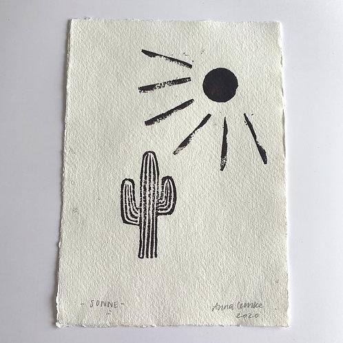 Sonne - Original Print