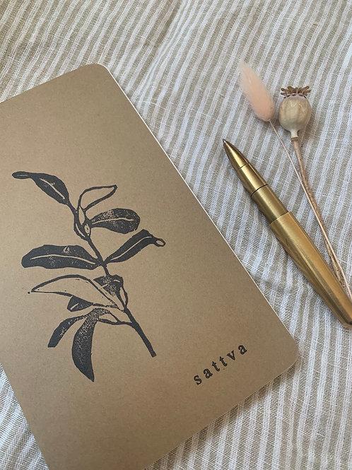 Notizbuch mit Print