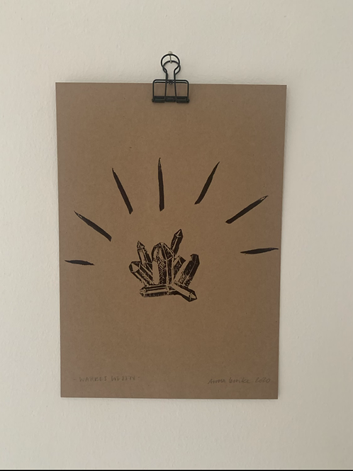 Wahres Wesen - Original Print