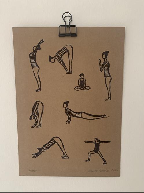 Yoga - Original Print