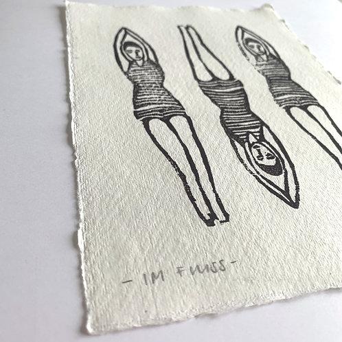 Im Fluss - Original Print