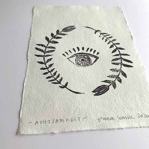 Achtsamkeit - Original Print