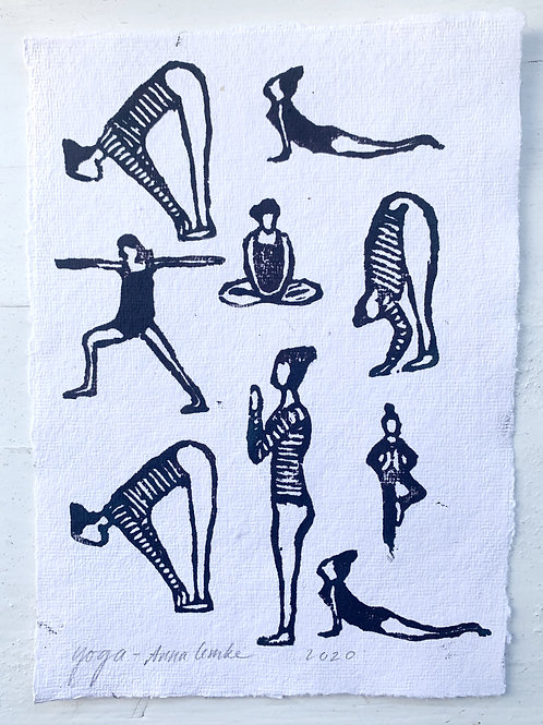 Originalprint - Yoga -