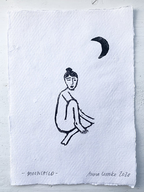 Originalprint - Moonchild -