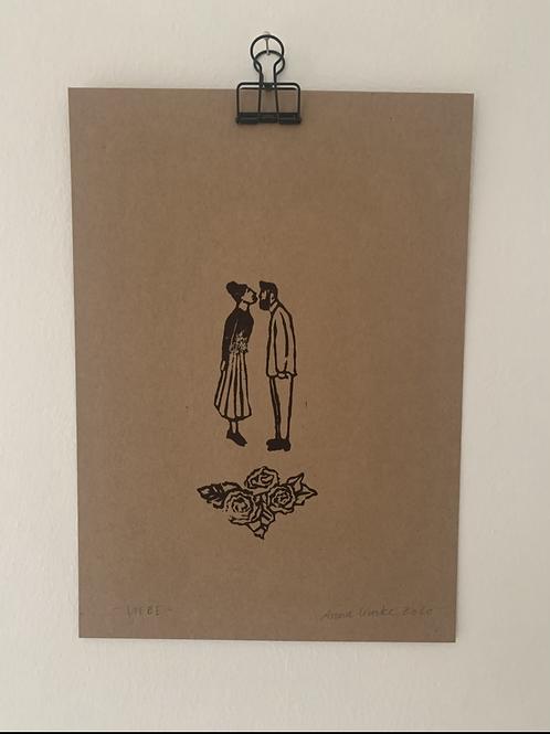 Liebe - Original Print