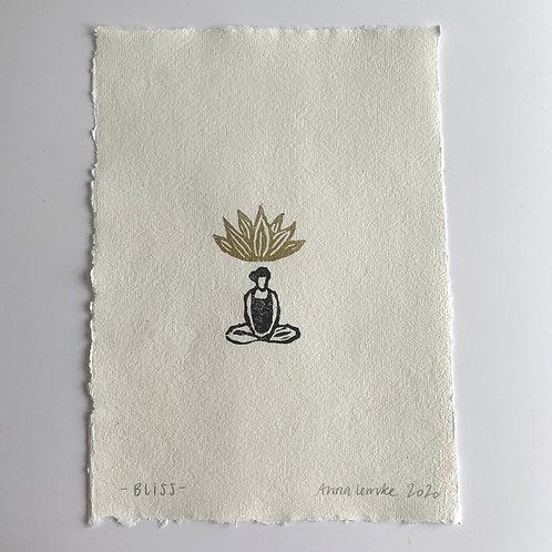 Bliss - Print auf Naturpapier