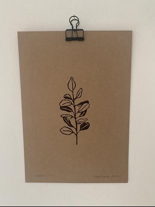 Simplicity - Original Print