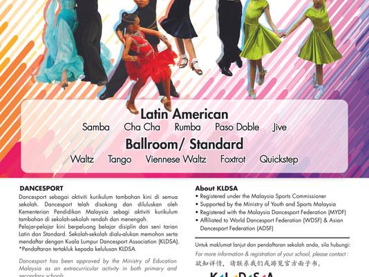 KLDSA Introducing School DanceSport Program