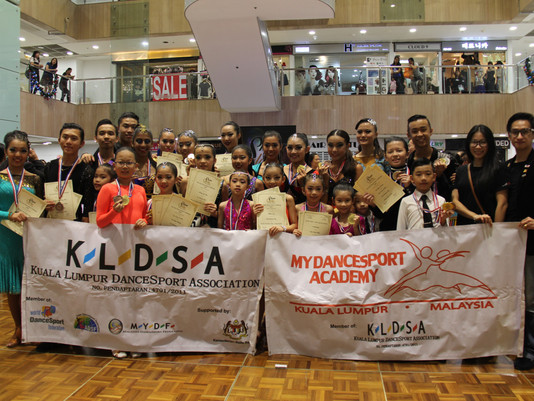 Major Victory for Team KLDSA in Singapore Far East DanceSport Challenge
