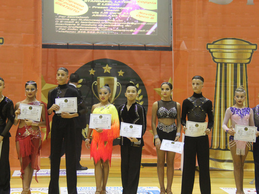 NEWS | Malaysian Junior DanceSport Athlete Won 4th in Italy!