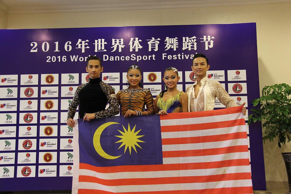 From LEft (Chua Zjen Fong, Evon Chong, Che Xin Nee & Chua Zjen Thak)