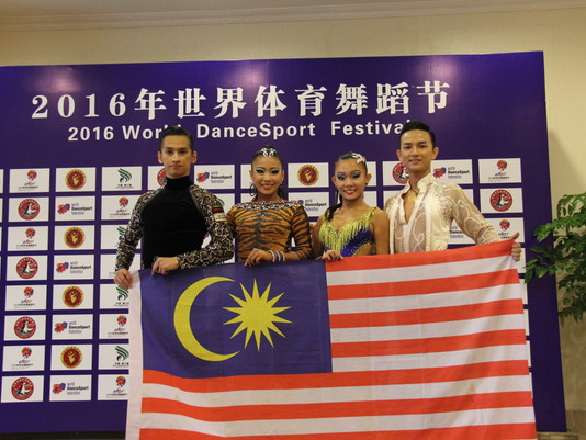 4 Couples Sponsored by KLDSA to Participate in 2016 WDSF World Latin Championship in Chengdu, China