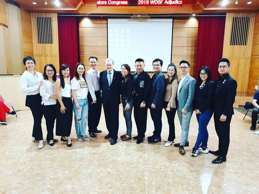 News | MYDF Officials Attending WDSF Adjudicators Congress in Taipei
