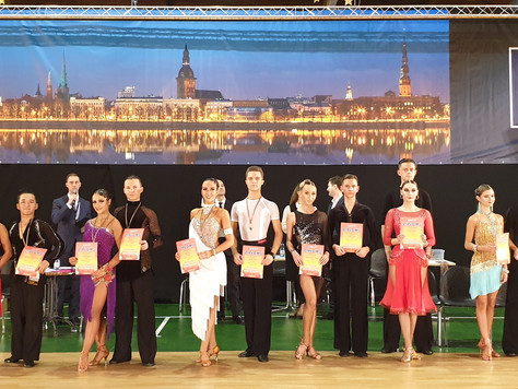 NEWS | KLDSA Couple Won Gold Medal in Riga, Latvia!