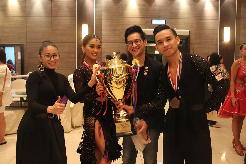 From Left: Evon Chong, Kelly Tan, Chua Zjen Fong & Danny Tan