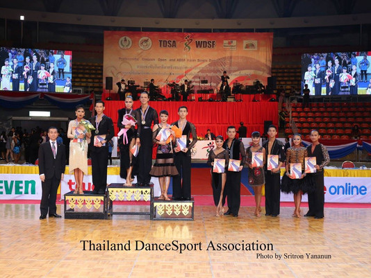 Finals in ADSF Asian Single Dance Samba in Bangkok