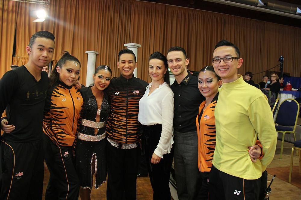 From Left: Yap Chin Yee, Yap Chi Yew, Evon Chong, Chua Zjen Fong, Claudia, Benedetto, Che Xin Nee, Chua Zjen Thak
