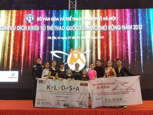 Report | The 3rd Hanoi Open Dancesport Championship!