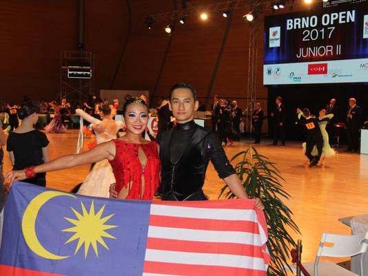 News | Malaysia Top Latin Couple in Brno Open 2017