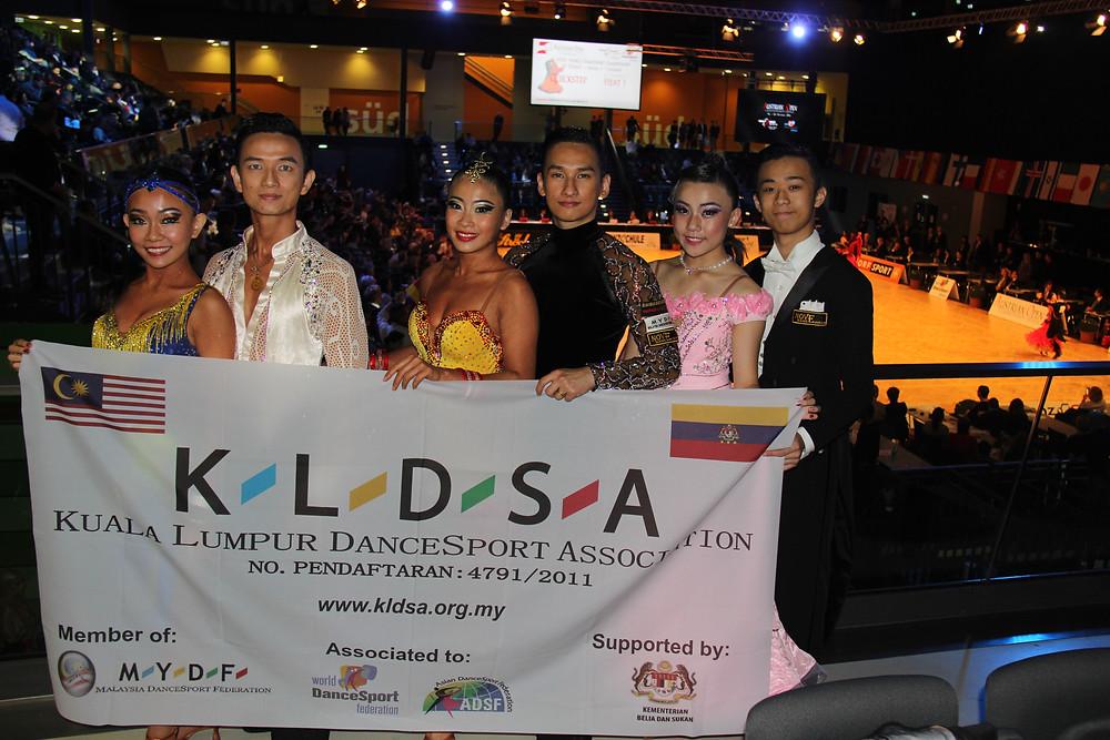Team DanceSport Kuala Lumpur in 2016 Austrian Open.