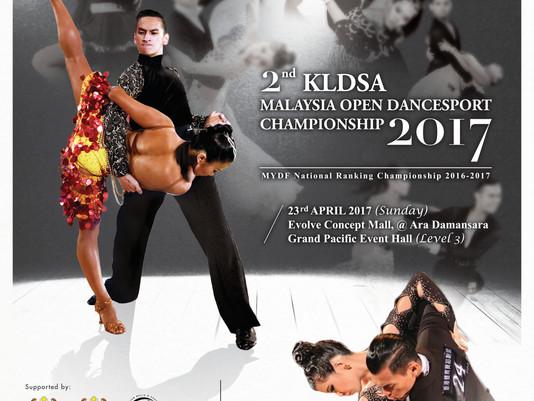News | 2nd KLDSA Malaysia Open DanceSport Championship is OFFICIAL!