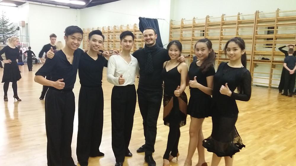From Left: Yap Chin Yee, Danny Tan, Chua Zjen Fong, Alexey Silde, Evon Chong, Yap Chi Yew & Kelly Tan