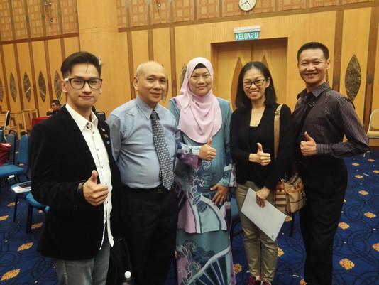 MYDF Delegates attending the Bengkel Pembangunan Peraturan-Peraturan Sukan  (Penganjuran Acara Sukan