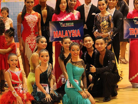 First Hanoi Open for Team DanceSport KLDSA