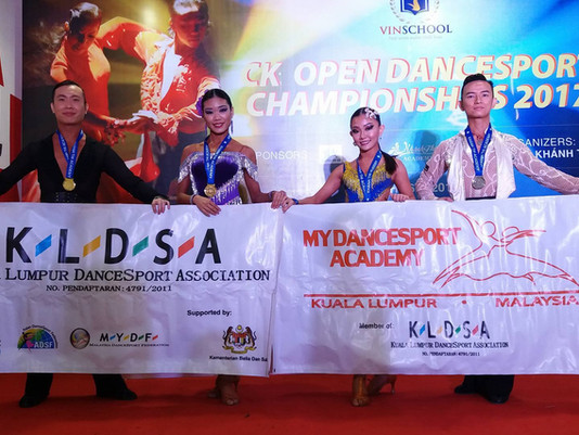 KLDSA Athletes Won 3 Golds, 1 Silver and 1 Bronze in Vietnam!