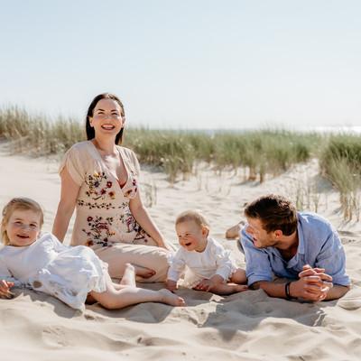 Familie stranddag - Schoorl aan zee