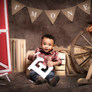 Cowboy baby photo session