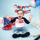 One year old birthday photo session