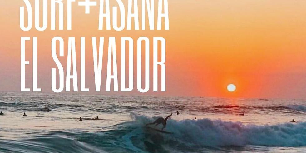 Surf+Asana in El Salvador