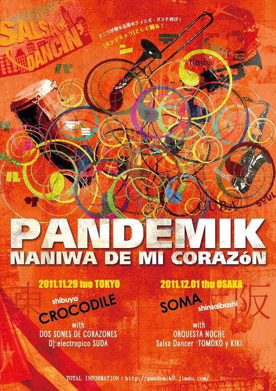 PANDEMIK Live Flyer