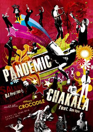 PANDEMIK vs CHAKARA Live Flyer