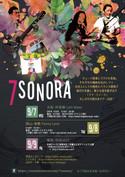 7sonora Tour Flyer