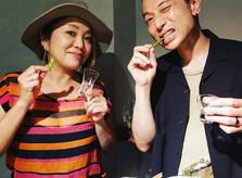 DOS LATIDOS の 日本酒ノミホサルサ
