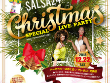 7sonora、SALSA24 Xmas Night Liveへ出演