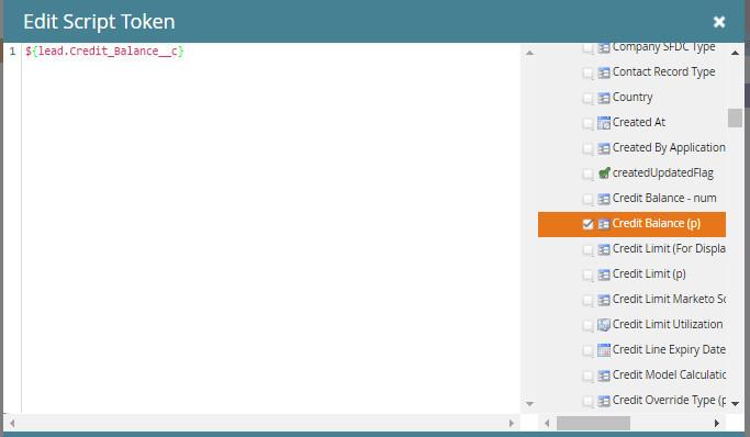 Email Script Token