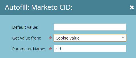 Marketo Autofill