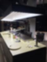 Custom made light for kitchen