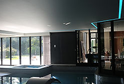 Stretch Ceiling, LED lighting, Swimming pool