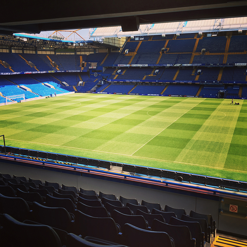 View of pitchVialli Suite Chelsea FC