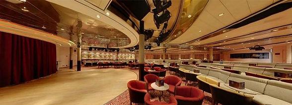 Pacific lounge Oriana