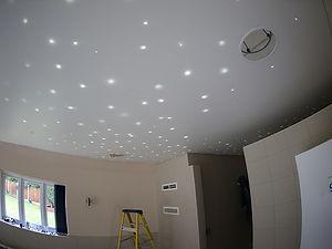 Fibre optic ceiling