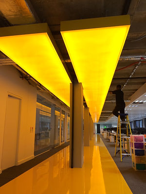 Yellow lights for Forward 3d